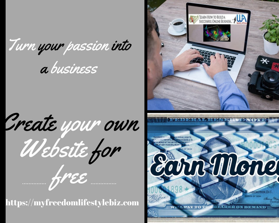 Wealthy Affiliate create your own website for free