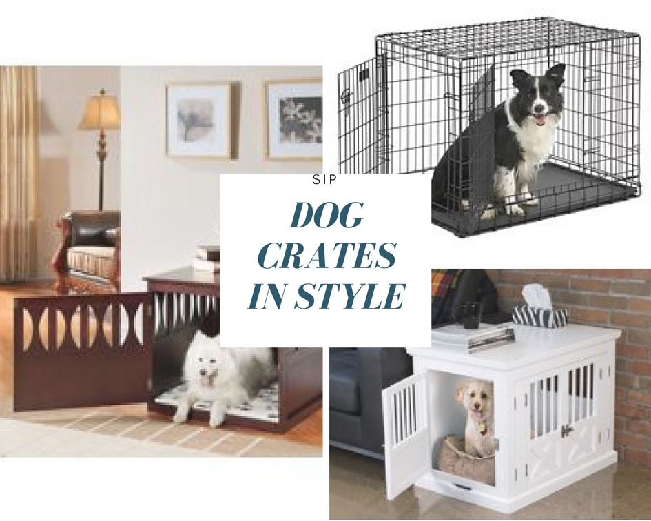 Dog crate for your puppy in different styles