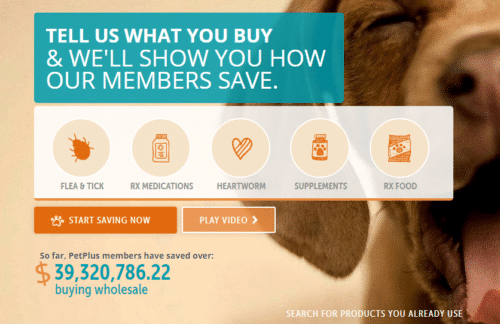 Pet plus Membership save on Vet bills