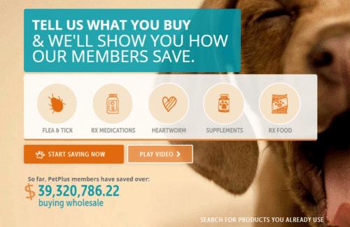 Pet plus Membership save on Vet bills