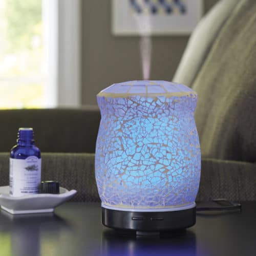 Oil diffuser for essential oils