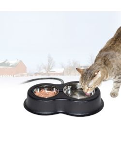 heated food and water bowl