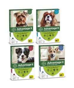 Advantage II Flea and Tick drop on for dogs