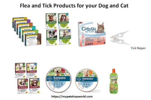 Flea and Tick Products for your Pet