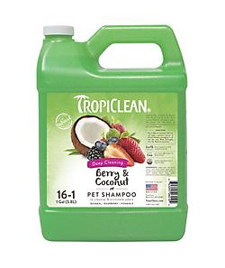 TropiClean Berry and Coconut Dog Shampoo